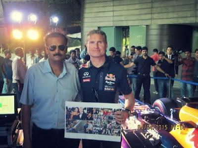 F1 fan Aditya Agrawal