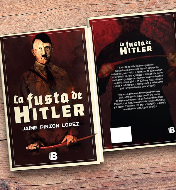Diseño de carátula libro, La fusta de Hitler