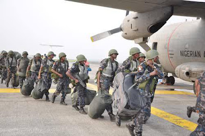 naf deployed to south east