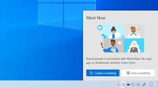 Meet Now On Windows 10 Build 20221