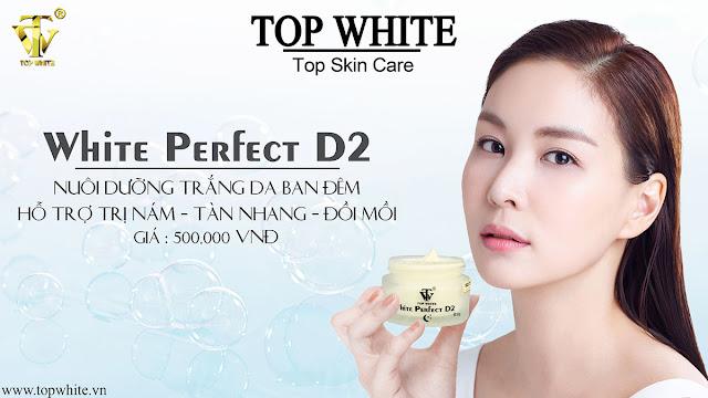 Kem nuôi dưỡng trắng da ban đêm White Perfect D2 - 450.000vnđ/ 1 hôp