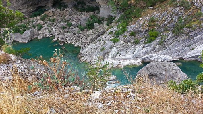 Река Морача, Черногория
