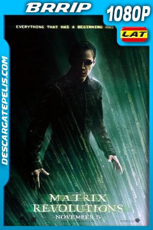 Matrix: Revoluciones (2003) 1080p BRrip Latino – Ingles