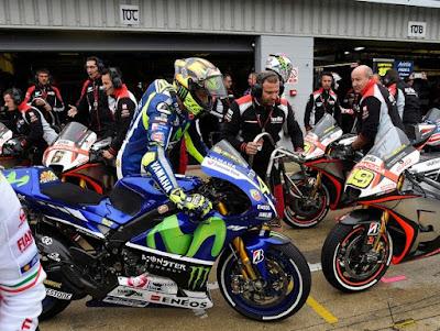 Rossi dkk Berpeluang Ulangi All Italian Podium di Silverstone