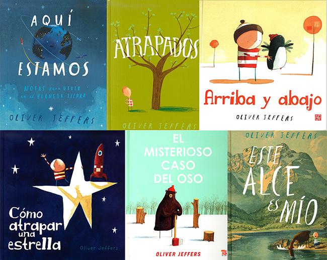 Oliver Jeffers en Libros del Oso, la mejor librería infantil de Argentina