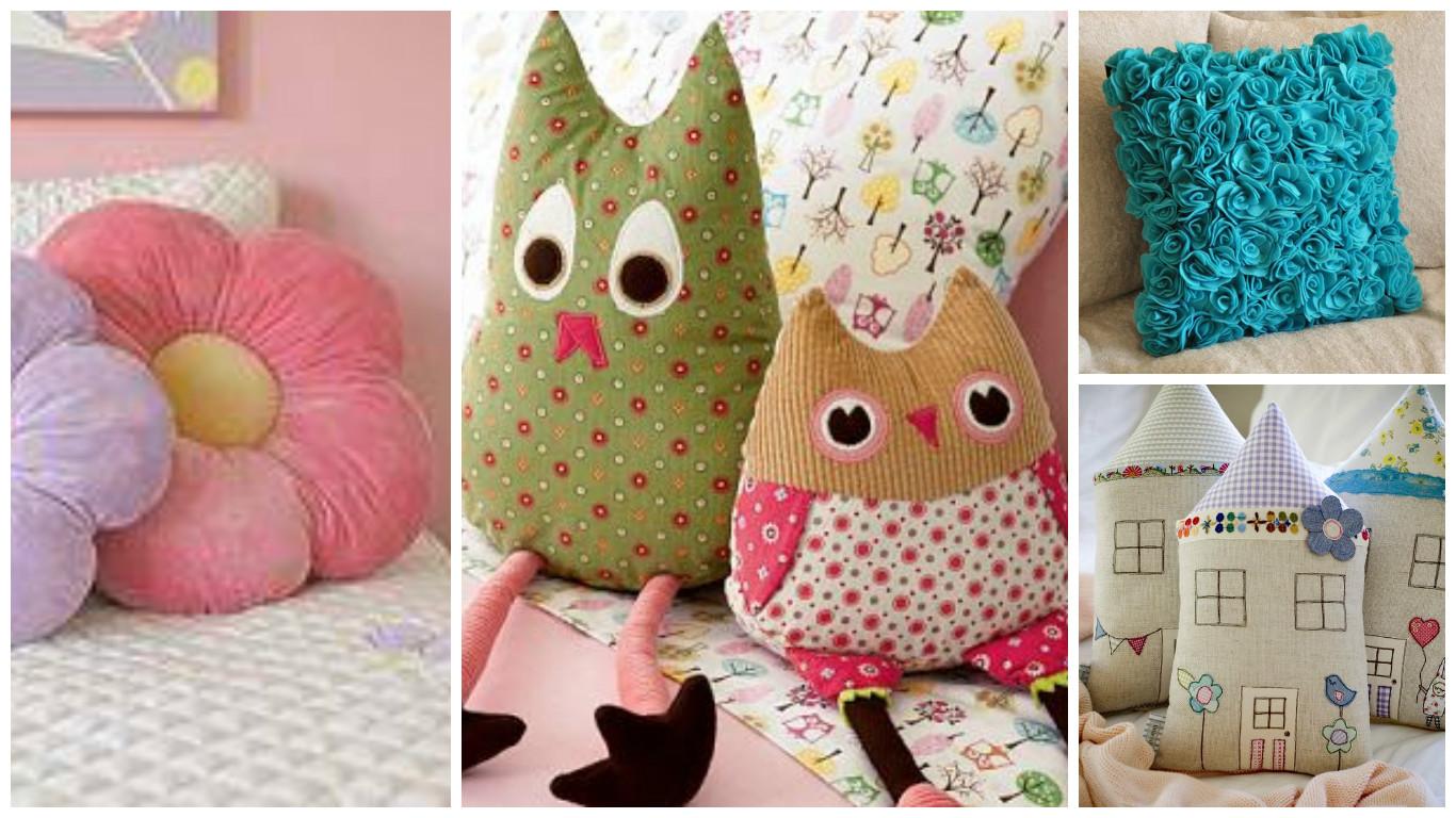 10 ideas para hacer lindos cojines decorativos para tu