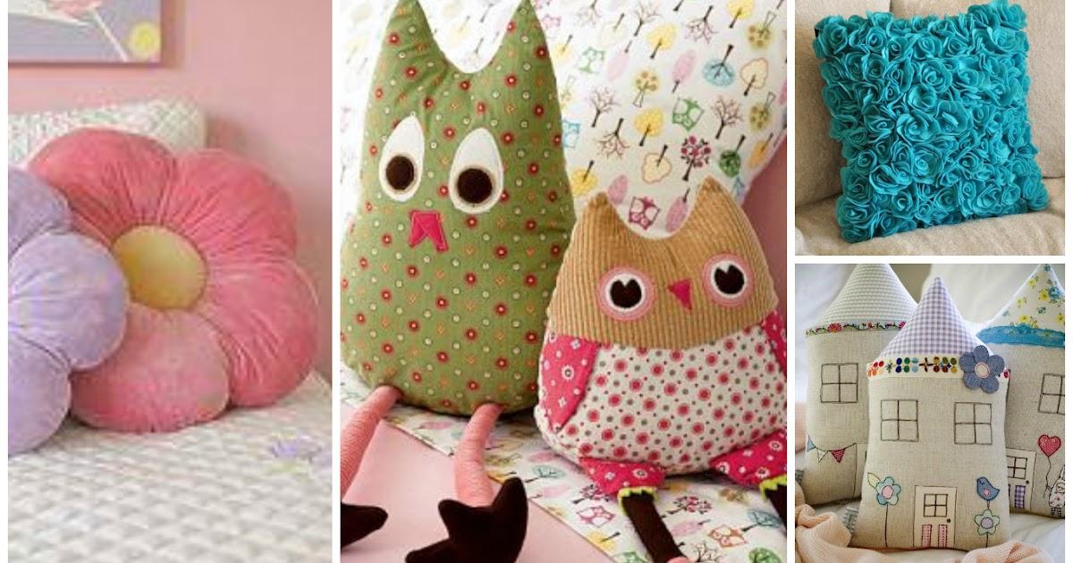 10 ideas para hacer lindos cojines decorativos para tu hogar - Cojines con tu foto ...