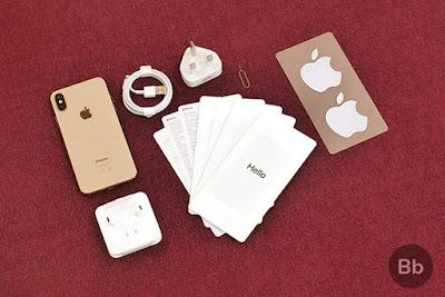 iPhone XS: Qu'y a-t-il dans la boîte?