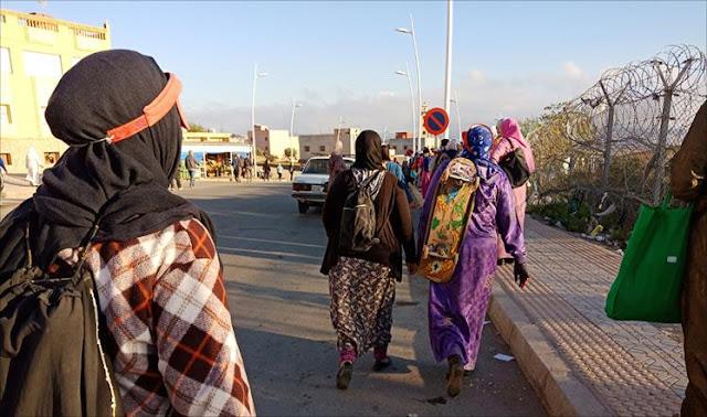 نساء التهريب بالمغرب.. حاملات أثقال لأجل لقمة العيش