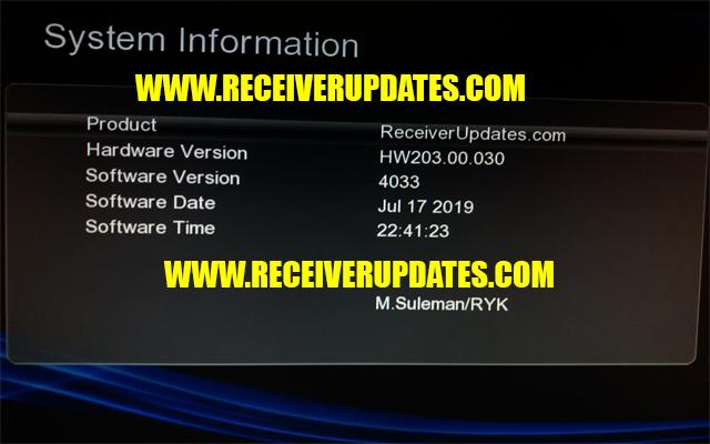 GX6605S HW203 00 030 HD RECEIVER NEW SOFTWARE TEN SPORTS & CCCAM