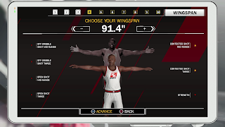 MyCareer Long Wingspan