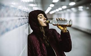 Cresce numero de mulheres com dependência química no álcool