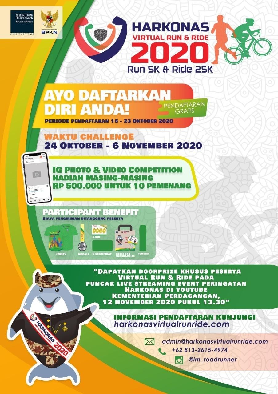 Harkonas Virtual Run & Ride • 2020