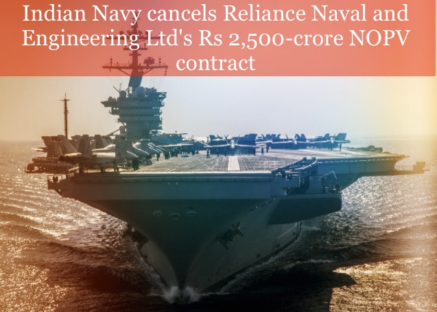 navy cancelled RNEL NPOVs contract