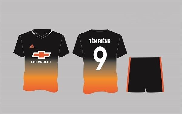 Mẫu đồng phục bóng đá 4