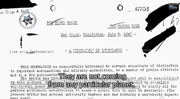 fbi2 - Impactantes documentos oficiales confirman que razas extraterrestres viven en la Tierra: (Video y fotos)