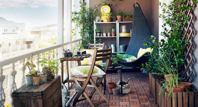 14 فكرة  لتزيين ديكور شرفة منزل عصري.. مع الصور