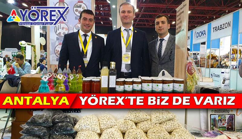 Antalya YÖREX'te Mudurnu Ürünleri Sergileniyor