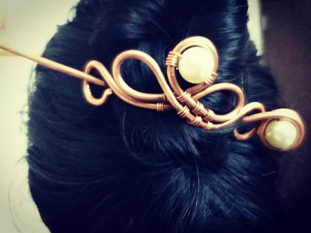 Copper Hair Accessories, Copper Jewelry