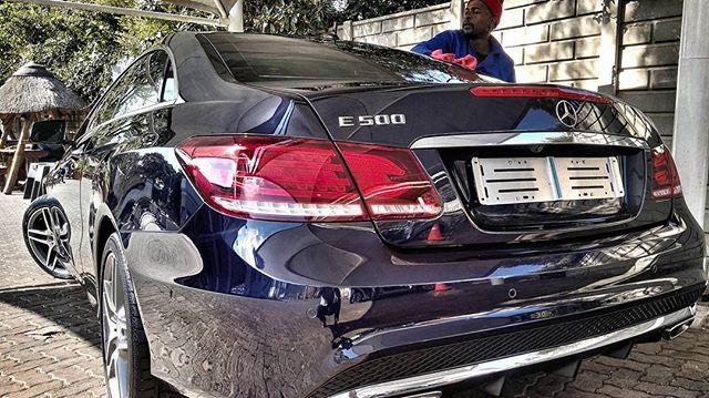 Ifani S Mercedes E500 Coupe Amg Mzansi Celebrity Cars