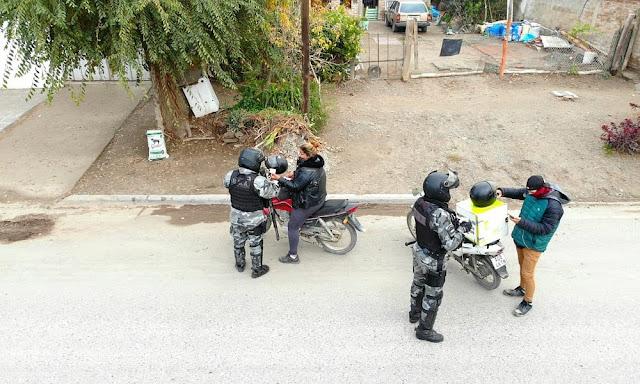 49 detenidos por violar la cuarentena durante la última semana en la provincia