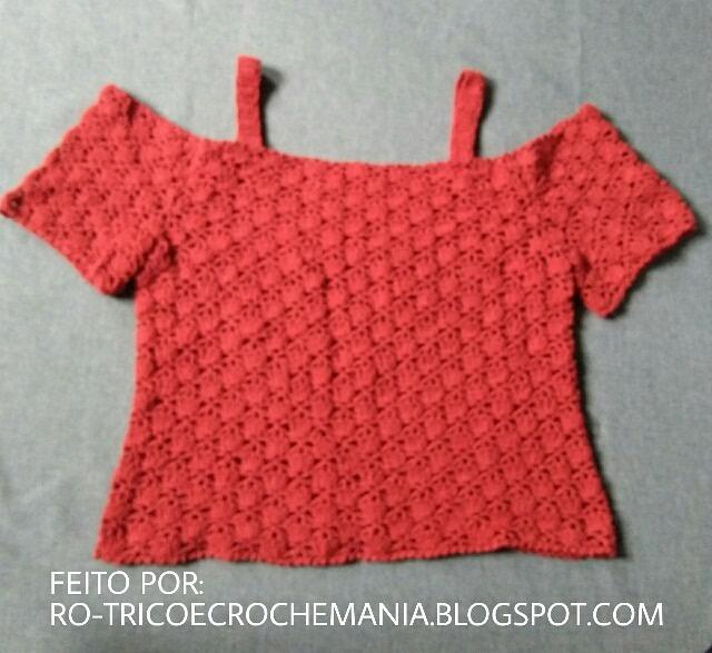 ro trico e croche mania muitos graficos de croche trico