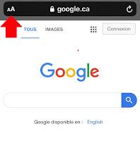 Page d'accueil de Google Recherche - 1