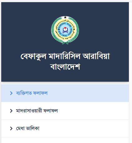 Befaqul Madarisil Arabia Bangladesh Result 2021