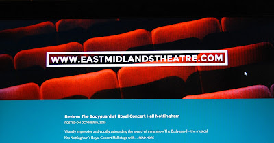 Brand new regional theatre website for the East Midlands.