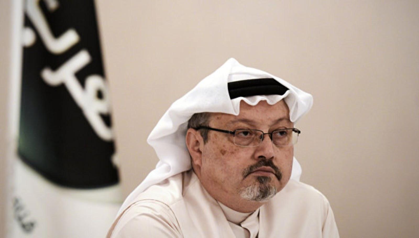 Khashoggi sedang mempersiapkan sebuah materi tentang penggunaan senjata kimia oleh Saudi di Yaman