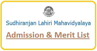 Sudhiranjan Lahiri Mahavidyalaya Merit List