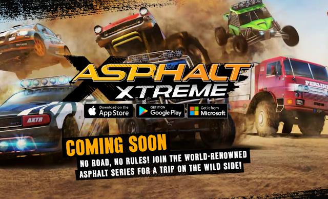 Gameloft Announces Asphalt Xtreme, Features No Road, No Rules