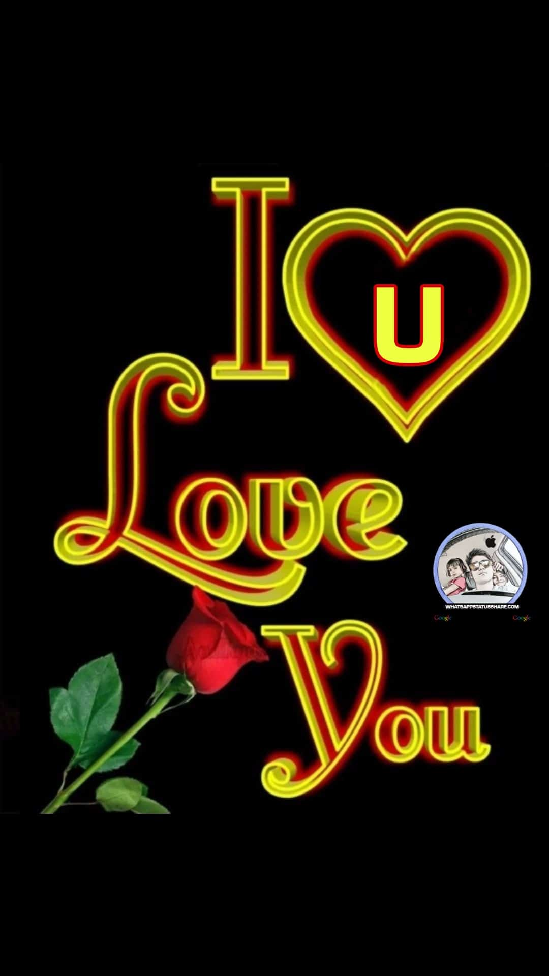 i love you u nameart