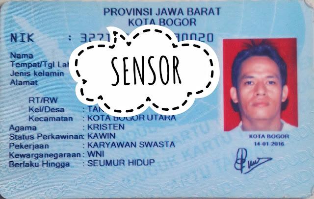 Ukuran KTP Atau E-KTP Di Indonesia