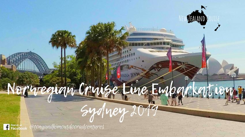 Norwegian Jewel New Zealand Cruise   Embarkation Day Sydney