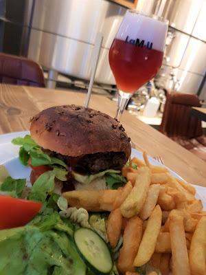burger maison bière fruitée charleroi