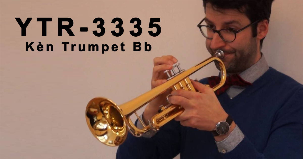 Kèn Trumpet Yamaha Bb YTR 3335