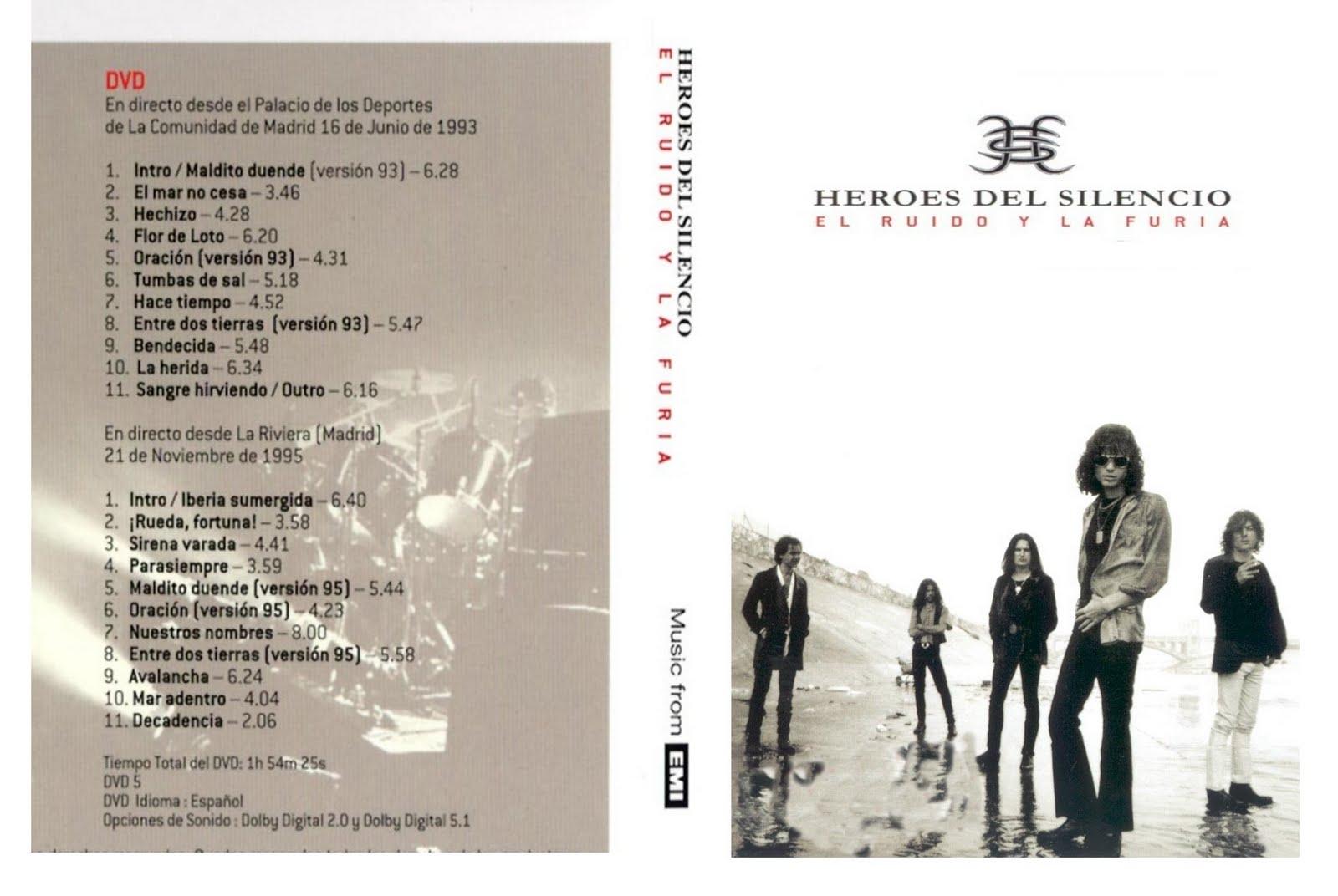 H roes del silencio 16 discografias completas bonus extras gratis descarga download city