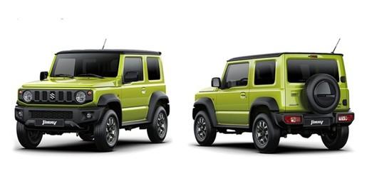 Generasi Keempat sosok Suzuki Jimny 2019