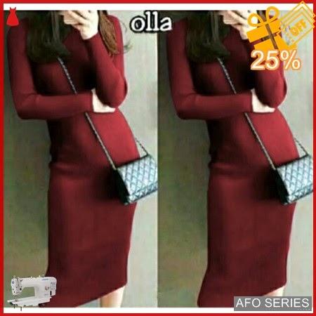 AFO342 Model Fashion Dress Olla Modis Murah BMGShop
