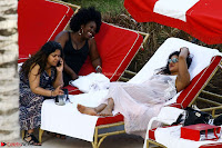 Priyanka Chopra in Bikini at a el pool  03 ~  Exclusive.jpg