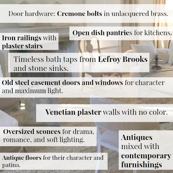 Pamela Pierce Designs Living Rooms {European Farmhouse Decor - absence note