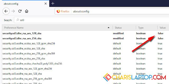 Mengatasi Secure Connection Failed Mozilla Firefox