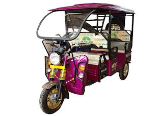 Mayuri Pro E rickshaw