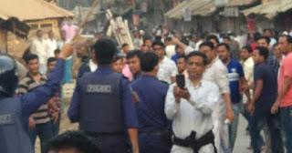 নোয়াখালীতে আ.লীগের দুই গ্রুপে সংঘর্ষে তিনজন গুলিবিদ্ধসহ আহত ৩৫