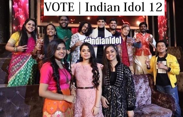 indian idol 12 vote sonyliv
