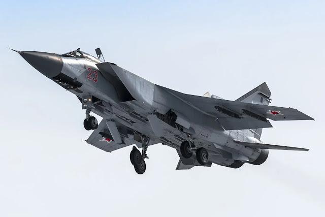 MiG-31 Bị Rơi Một Bánh Xe