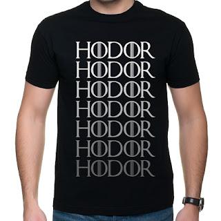 Koszulka Gra o tron - Hodor