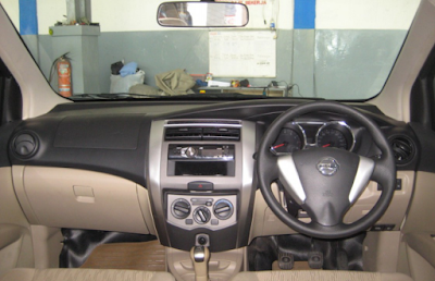 Interior Nissan Grand Livina Facelift