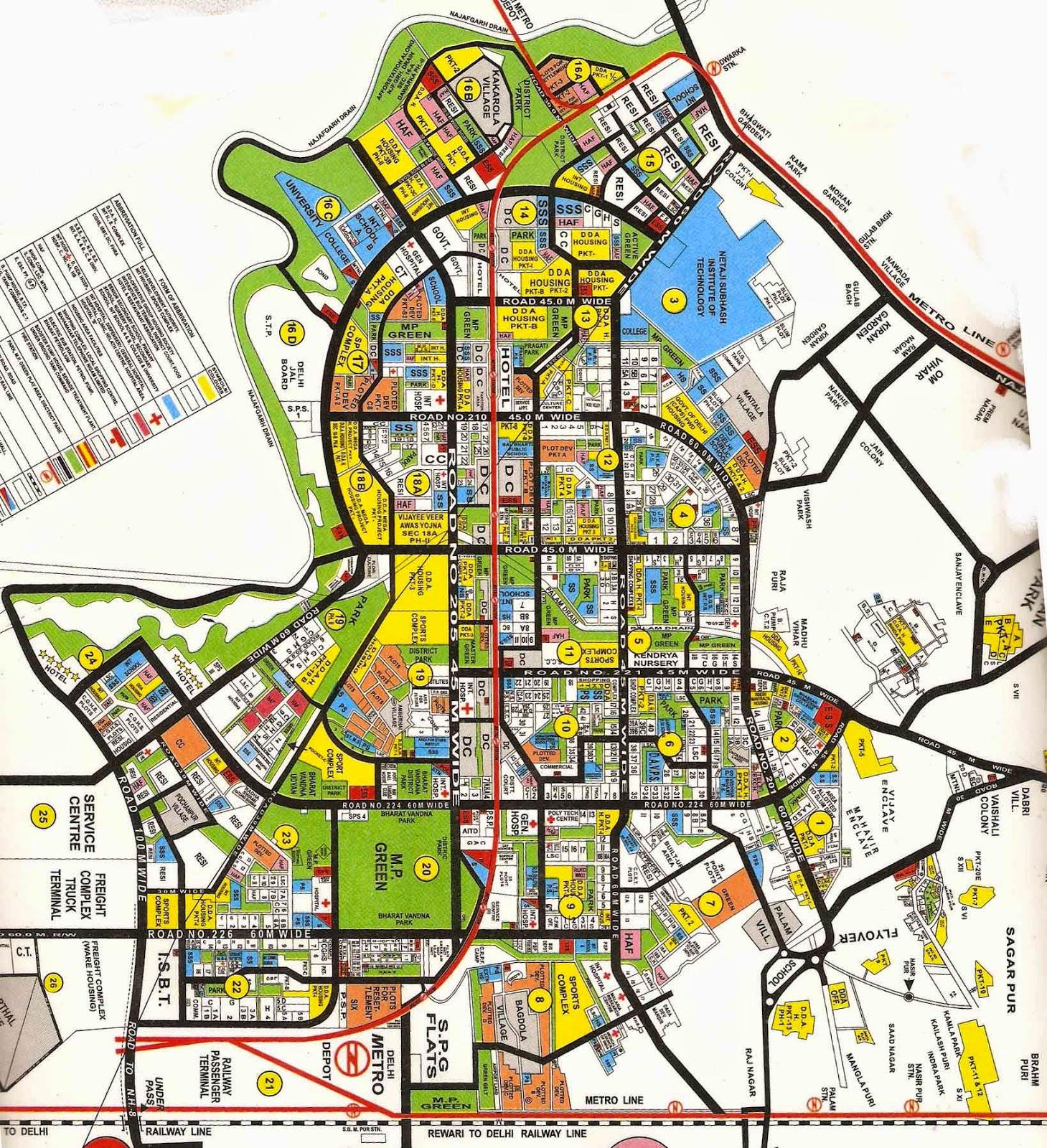 palam airport delhi map Palam Guide Palam Colony Delhi Map palam airport delhi map